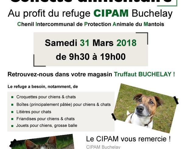 Collecte Truffaut – le 31 mars