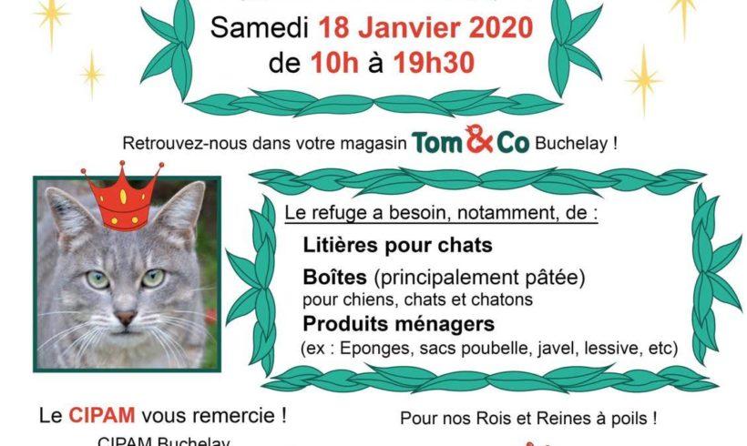 Collecte Samedi 18 janvier 2020 chez Tom and Co (Mon Beau Buchelay)