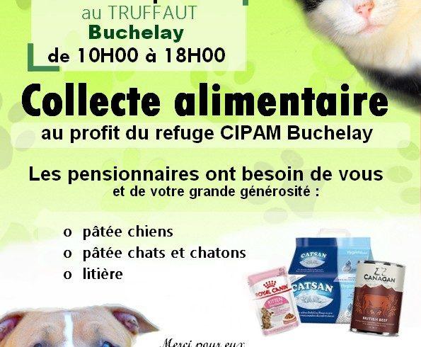 Collecte TRUFFAUT, Buchelay 12 et 13 juin 2021