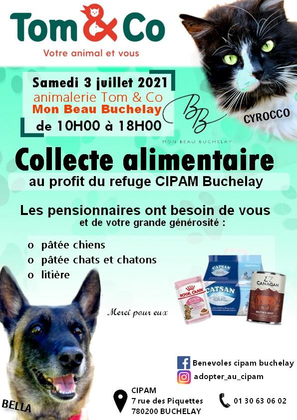 Collecte TOM and CO, Mon Beau Buchelay, samedi 03 juillet 2021